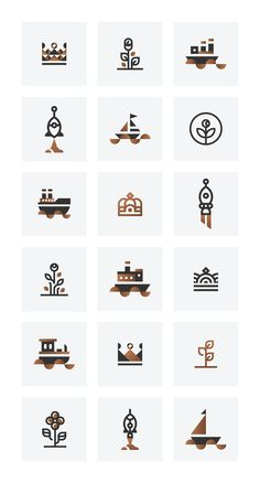 Icons & Vectors on Behance