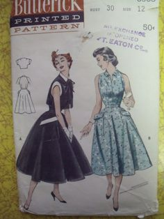 "Butterick 6903: so cute and so small. when I see patterns like this I think ""why can't I be tiny?!"""