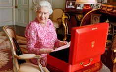 Queen Elizabeth II becomes the longest reigning British Monarch - this handout picture of Queen Elizabeth II has been released by Buckingham Palace to mark the moment she becomes the longest reigning British Monarch. The photograph, by Mary McCartney, shows The Queen seated at her desk in her private audience room at Buckingham Palace.