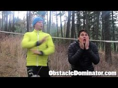Ben Greenfield and Hunter McIntyre from http://www.obstacledominator.com show you how to warm up for the tyrolean traverse in a Spartan race or an obstacle r...
