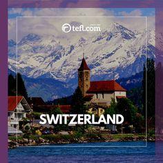 Jobs For Teachers, Targeted Advertising, Teaching Jobs, Training Courses, English Language, Switzerland Interlaken, Open Academy, Tefl Certification, Vocational Skills