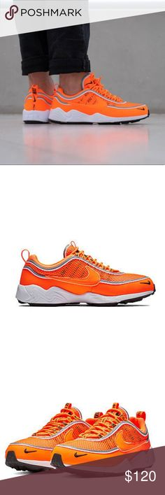 cheap for discount 0e1bc 51536 NWT Nike Air Zoom Spiridon 16 SE Hazardous Orange BRAND NEW WITH BOX!  MSRP 170