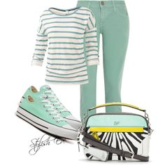 """""""Chuck Taylor All Star Sneaker Outfit!"""" by stylisheve on Polyvore"""