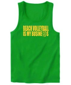 Beach Volleyball Is My Business Tank Top