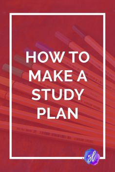 With midterms and finals around the corner, a study plan is essential to feeling prepped and acing the test. This guide shows how to make a study plan. College Motivation, Study Motivation, Study Plan Template, Study Plans, College Success, College Tips, College Planner, College Essay, Weekly Planner