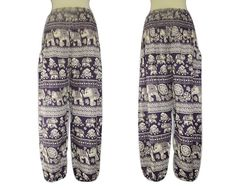 Plus Size Elephant PantsBoho Pants Summer Pants by SissaFashions