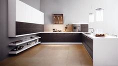 Awesome Modern In Simple Small Kitchen With Wooden Cabinets And