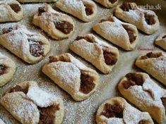 Krehké jablkové koláčiky (fotorecept) Kolachi Recipe, Ale, Bread, Cookies, Baking, Sweet, Food, Hampers, Creative
