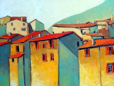 """Saatchi Online Artist jerzy  werbel; Painting, """"Provance """" #art"""