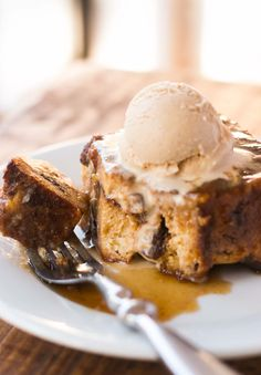 Caramelized Panettone Bread Pudding