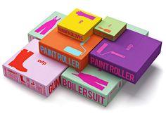 Color y tipografía para la identidad corporativa de Waldo Trommler Paints