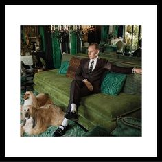 Modern suiting and accessories worn by #TomHiddleston in the new #GucciTailoring campaign: a jacquard Heritage suit with the leather Mary Jane shoe. Photographer: @_glen_luchford Creative director: #AlessandroMichele Art director: @christophersimmonds