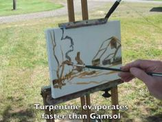 Developing confidence in plein air painting