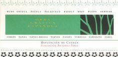 """""""Obra gráfica española 2"""" exposición en la Fundación Antonio Pérez Cuenca 1998 #FundacionAntonioPerez #Cuenca"""