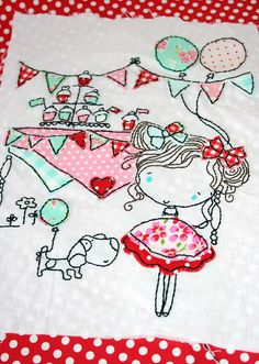 Embroidery done! by ellabellasmommy2004, via Flickr