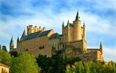 L'Alcazar de Ségovie, Ségovie (Espagne) #segovie #segovia #alcazar #espagne #espana