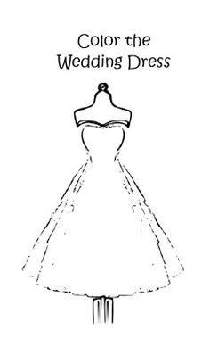 something white wedding activity book for kids