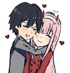 Aww so cute Me Me Me Anime, Anime Love, Manga Anime, Anime Art, Deep Drawing, Deer Tattoo, Zero Two, Darling In The Franxx, Yandere