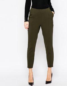 Image 4 ofASOS Slim High Waisted Trouser
