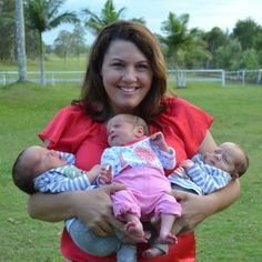 Natural Birth Triplets- 3 babies born naturally within minutes of each other! It can be done.