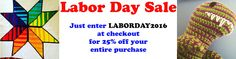 LABOR DAY SALE!   I'm having a massive sale in my Etsy shop. Just put the coupon code in at checkout and you will save 25% off EVERYTHING. Finished project crochet patterns educational games all of it! Just click the giant yellow link below: http://ift.tt/2caWvDi