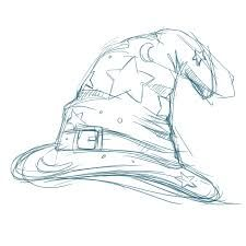Image Result For Wizard Hat Drawing