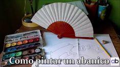 Cómo pintar un abanico www.abpulseras.com - regalos originales