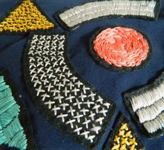 stitch detail / over paño