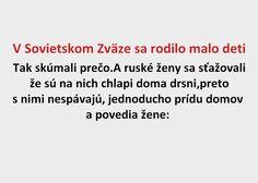 V Sovietskom Zväze sa rodilo malo deti - Spišiakoviny.eu
