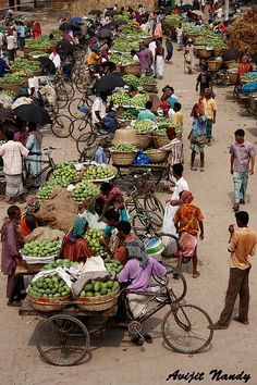 Kansat Mango Market, INDIA - by AvijitNandy, via Flickr