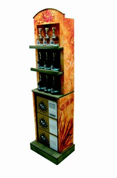 Cabo Wabo Tequila Display