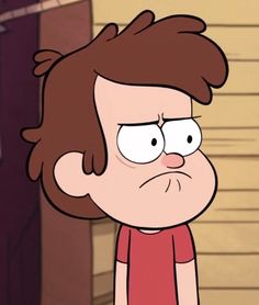 My expression to people who don't like Gravity Falls or know what it is.