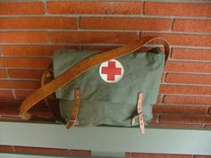 Vintage  Military Medic Bag by r3supplyco on Etsy, $62.00