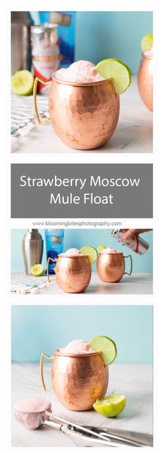 Strawberry Moscow Mu