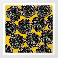 Indigo Art Print by Simi Design - $15.60    http://society6.com/SimiGauba/Indigo-vOK_Print