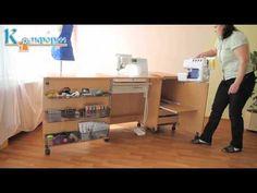Швейный стол.mp4 - YouTube