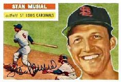 1956 Topps Stan Musial card that never was.