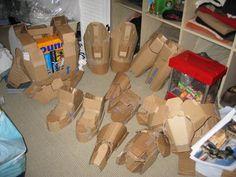 Cardboard Halo Armor