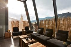 Stadthotel Brunner in the Schladming-Planai-Dachstein/Ski amadé ski region. The barrier-free design hotel with Yoga and Ayurveda offer in Schladming Design Hotel, Yoga Hotel, Manila, Das Hotel, Outdoor Furniture Sets, Outdoor Decor, Simple Elegance, Boutique, Skiing