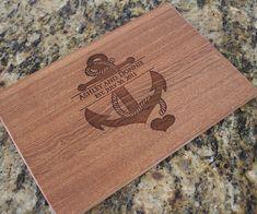 Wedding Gift  Custom Cutting Board Engraved by EverythingDecorated, $34.99