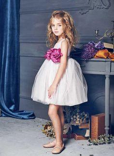 Nellystella LOVE Blossom Dress in Lavender Fog
