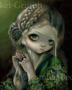 Guinevere Had Green Eyes - Jasmine Becket-Griffith
