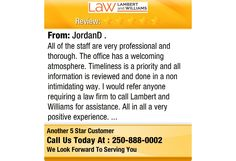 All of the staff are very professional and thorough. The office has a welcoming...