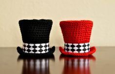 Items similar to Mini Top Hat - PDF CROCHET PATTERN on Etsy dc488ff0c99