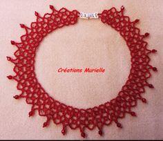 collier rouge autres coloris sur demande