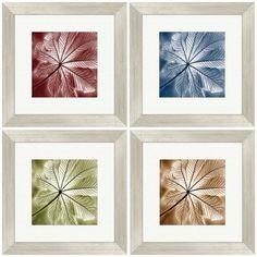 Autumn Leaf Framed Art (Set of 4) $65.99
