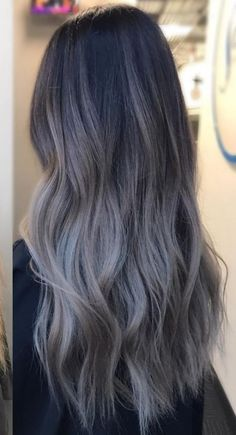 ideas hair color purple brown brows The most beautiful hair ideas, the most trend hairstyl Grey Ombre Hair, Brown Hair Balayage, Brown Blonde Hair, Hair Color Purple, Light Brown Hair, Hair Color Balayage, Brunette Hair, Hair Highlights, Grey Dyed Hair