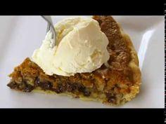 Tollhouse Pie: Chocolate Chip Pie Recipe