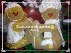 Manualidades Anafer: Cortineros Navideños Gingerbread Man, Gingerbread Cookies, Christmas Decorations, Christmas Ornaments, Holiday Decor, Color Wow, Winter Wonder, Felt Crafts, Sewing Crafts