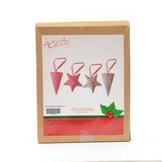 DIY craft kit which creates star decorations. Great for people who enjoy being creative. Craft Kits, Diy Kits, Craft Projects, Star Decorations, Christmas Decorations, Fun Crafts, Crafts For Kids, Star Ornament, Xmas Gifts